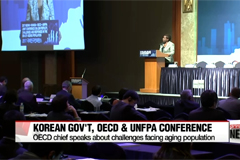 OECD chief, President Moon see eye-to-eye on need to address population challenges, inclusive growth
