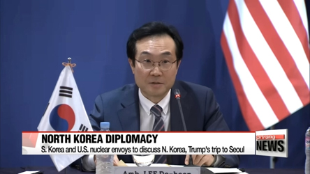 S. Korea and U.S. nuclear envoys emphasize coordination over North Korea