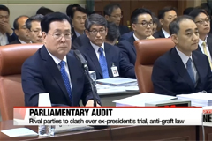 Parties expected to clash over ex-president's trial, anti-graft law at parliamentary audits