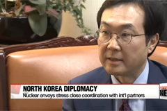 S. Korea and U.S. nuclear envoys stress international coordination over North Korea