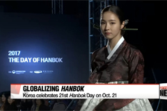 Korea strives to globalize hanbok as it celebrates 21st Hanbok Day