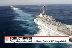 Strong alliance deters conflict on Korean Peninsula: U.S. Navy Admiral