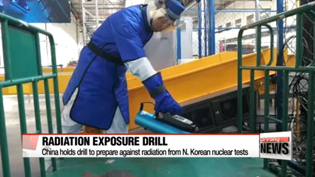 China's Dandong holds drill to prepare against radiation from N. Korea...