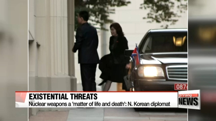N. Korea diplomat says there will be no negotiations on nuclear progra...