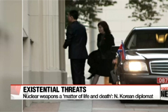 N. Korea diplomat says there will be no negotiations on nuclear program
