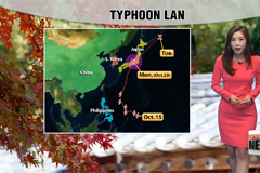 Cool Monday with strong winds and high waves in some parts due to typhoon