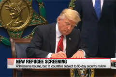 U.S. to resume refugee admissions, but tighter screening for 11 countries