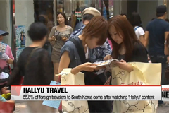 More than half of foreigners visit Korea after watching Hallyu content: poll