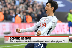 Son Heung-min sets new all-time record for goals scored by Asian player in EPL