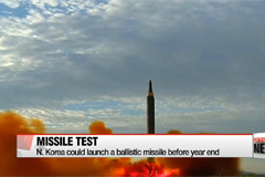 North Korea could launch another ballistic missile before year end