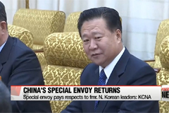China's special envoy to North Korea returns to Beijing... with no word on meeting with Kim Jong-un