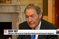 CBS News and PBS cut ties to Charlie Rose following sex allegations