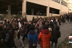 Hundreds of thousands of students take delayed college entrance exam
