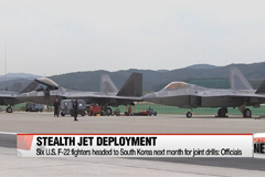 U.S. to deploy six F-22 fighter jets to Korea next month for joint exercise: Officials