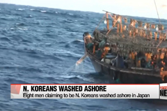 Eight men claiming to be N. Koreans washed ashore in Japan