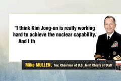 N. Korea may use nukes if Kim Jong-un sees it as way to solidify future: Mullen