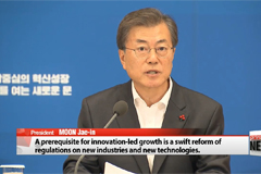 South Korea President Moon Jae-in urges speedy implementation of innovation-led growth projects
