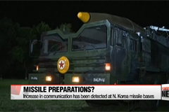 Seoul monitoring N. Korea for possible missile test