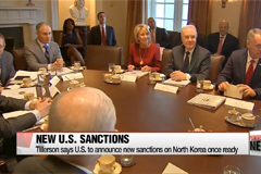 New U.S. sanctions on North Korea could target financial institutions