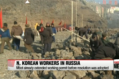 N. Korean workers in Russia may not decrease as much despite UN resolution: Yonhap