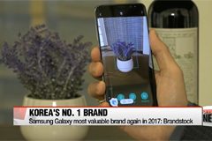 Samsung Galaxy, top Korean brand for the 7th consecutive year in 2017