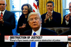 Trump's Flynn tweets point to obstruction of justice