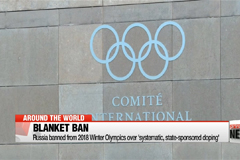 Russia banned from PyeongChang Winter Olympics