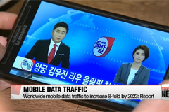 Worldwide mobile data traffic to increase 8-fold by 2023: Report