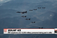 Seoul-Washington joint air force drill to end Friday afternoon