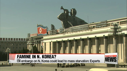 Oil embargo on North Korea could lead to mass starvation: Expert