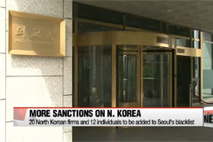 South Korea slaps further unilateral sanctions on North Korea