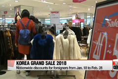Korea to launch shopping festival for foreigners next year