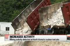 Increased activity spotted at North Korea's nuclear test site