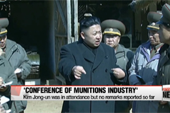 North Korea holds munitions conference to laud success of latest missile test