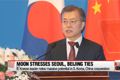 South Korean President Moon Jae-in stresses understanding, communication between Seoul and Beijing