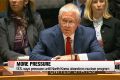 U.S., North Korea clash at UN Security Council meeting