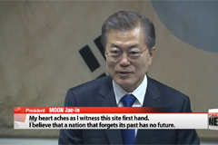 President Moon emphasizes need for strong S. Korea-China ties based on shared history