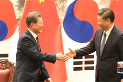 Bilateral relations repaired during South Korea-China summit