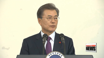 President Moon invites heads of diplomatic missions abroud to Blue Hou...