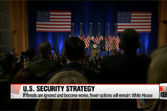 U.S. unveils first National Security Strategy since Pres. Trump's inauguration