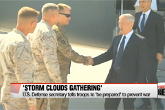'Storm clouds are gathering': Mattis
