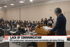 2015 'comfort women' deal severely lacked communication with victims: FM Kang