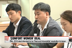 FM Kang says 'comfort women' deal considerably lacked communication with victims ahead of review release