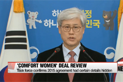Task force review slams 2015 'comfort women' agreement