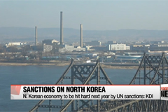 North Korean Economy to be hit hard by tougher sanctions: KDI