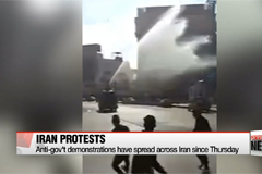 Iranian cities hit by anti-government protests