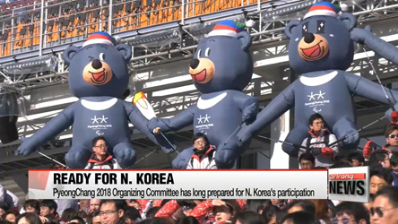 PyeongChang Olympic Organizing Committee has long prepared for No...