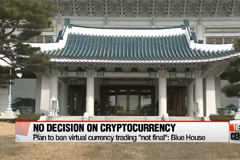 South Korea's Presidential Office denies plans to ban cryptocurrency trading