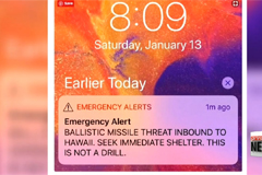 Hawaii panics over 'missile strike' false alarm