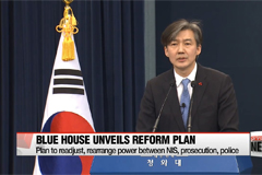 South Korea's presidential office unveils reform plan of key investigative bodies in attempt to check and balance power